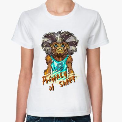 Классическая футболка Примат Листа.