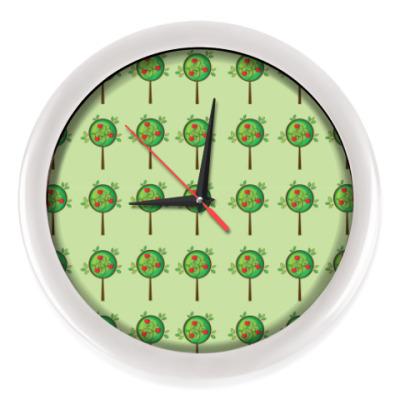 Настенные часы Яблоневый сад