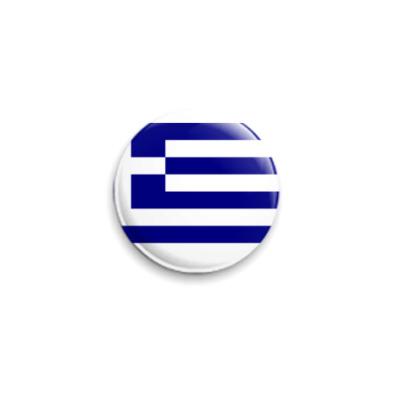 Значок 25мм  Греция
