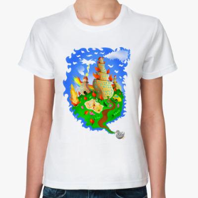 Классическая футболка  Двор
