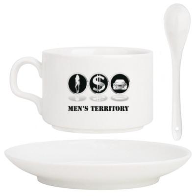 Кофейный набор Men's territory