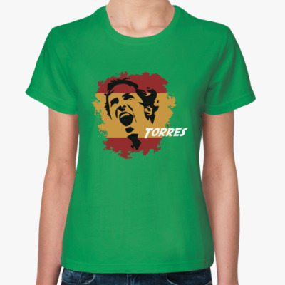 Женская футболка Торрес