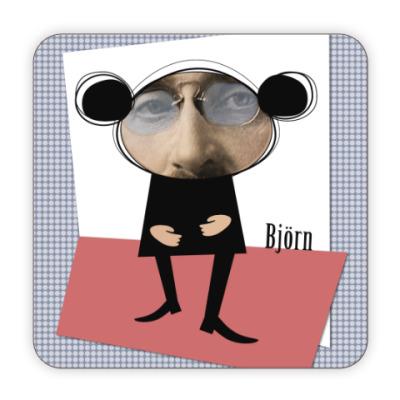 Костер (подставка под кружку) Bjorn Медведь