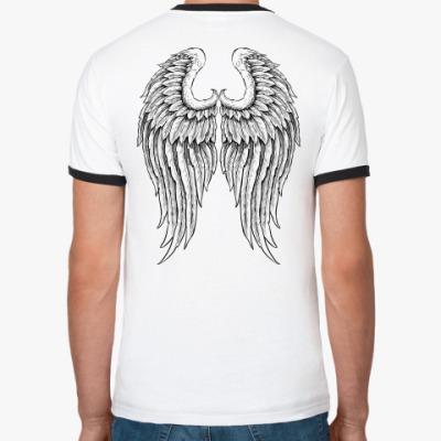 Футболка Ringer-T Крылья