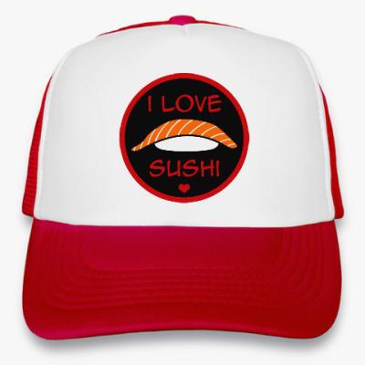 Кепка-тракер Я люблю суши