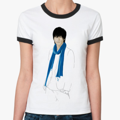 Женская футболка Ringer-T   Рё