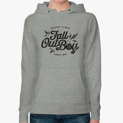 Женская толстовка худи Fall Out Boy