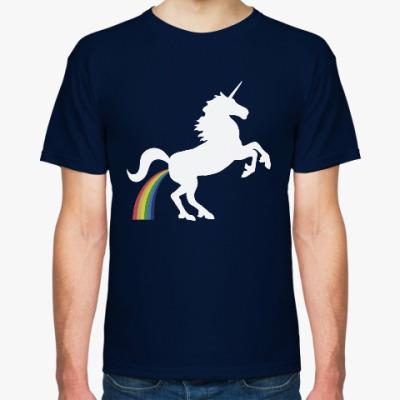 Футболка Единорог и радуга