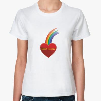 Классическая футболка Heart Energy