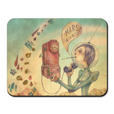 Коврик для мыши Коврик Mars? Hello???