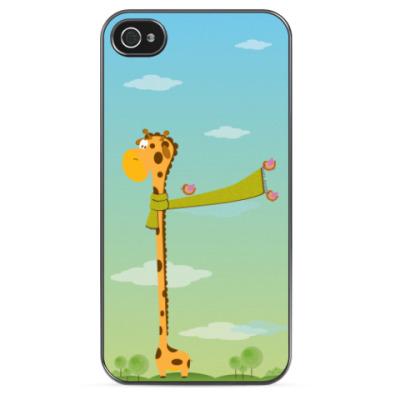Чехол для iPhone Самый высокий жираф
