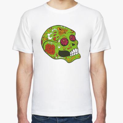 Футболка Череп скелет
