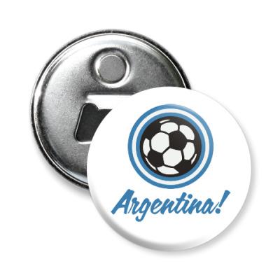 Магнит-открывашка Аргентина