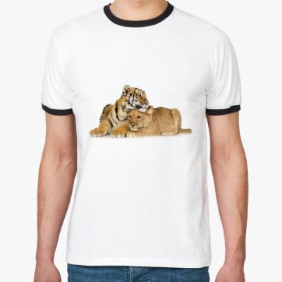 Футболка Ringer-T Тигры