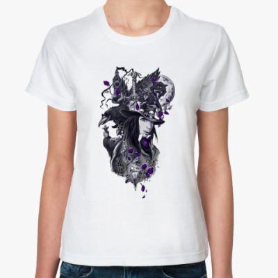 Классическая футболка Лиловая мистерия