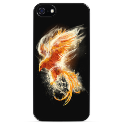 Чехол для iPhone Птица Феникс Fenix bird