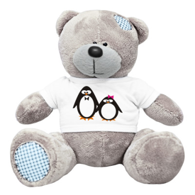 Плюшевый мишка Тедди Пингвины