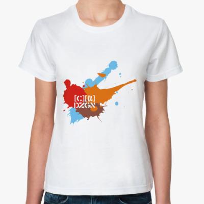 Классическая футболка spots logo autumn
