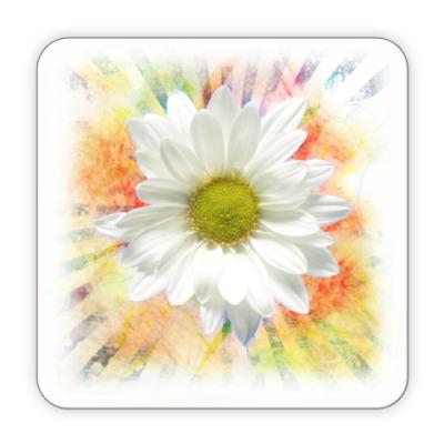 Костер (подставка под кружку) Подставка Ромашка (Flower)