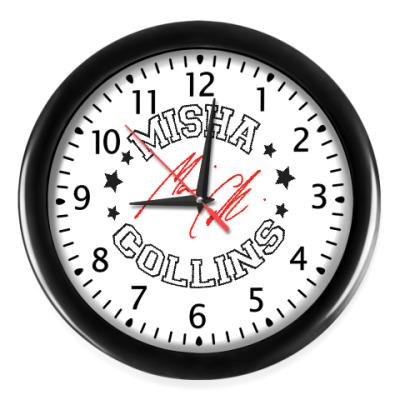 Настенные часы Миша Supernatural - Автограф
