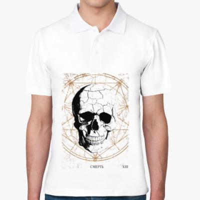 Рубашка поло Samael's Taro (Смерть)