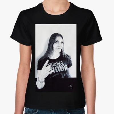 Женская футболка Floor Jansen