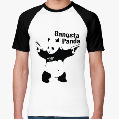 Футболка реглан Gangsta Pand