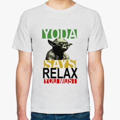 Футболка Yoda Says