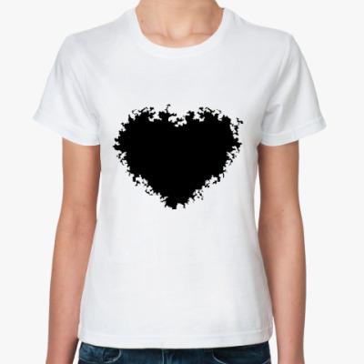 Классическая футболка black heart