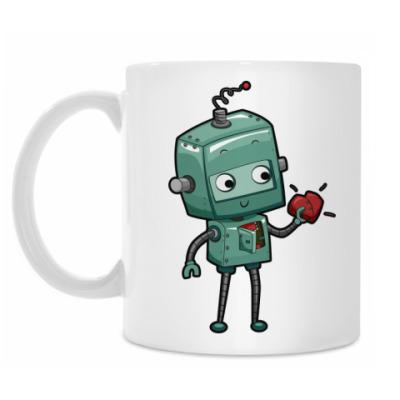 Кружка Робот с сердцем