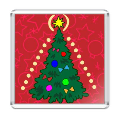 Магнит Рождественская елочка