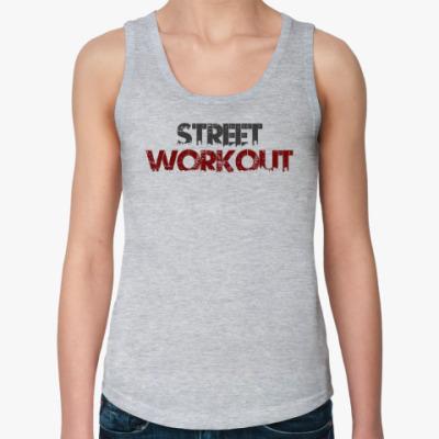 Женская майка Street Workout