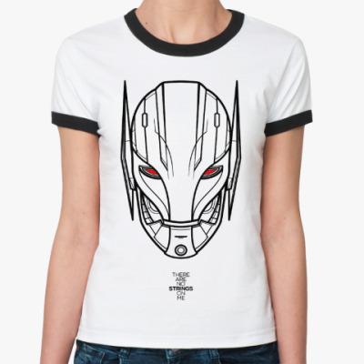 Женская футболка Ringer-T Мстители : Эра Альтрона
