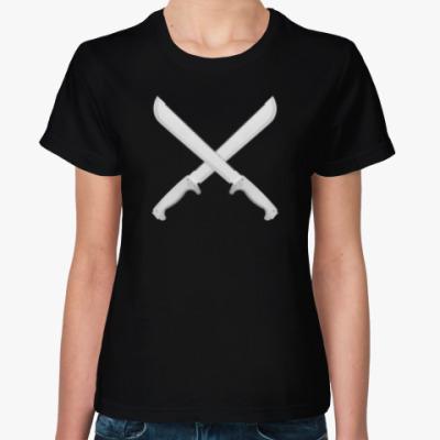 Женская футболка Мачете