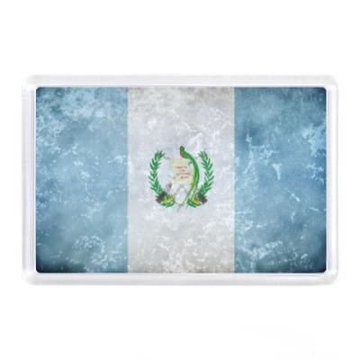 Магнит Флаг Гватемалы