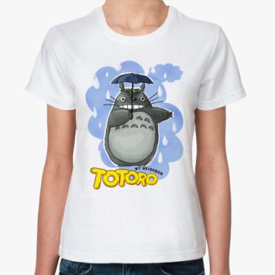 Классическая футболка футболка Тоторо 3.1 (жен)