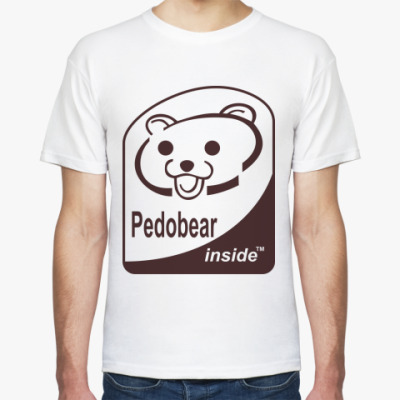 Футболка Pedobear inside