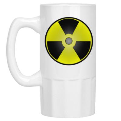 Пивная кружка Радиация постапокалипсис