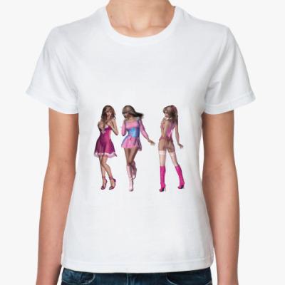 Классическая футболка Девушки