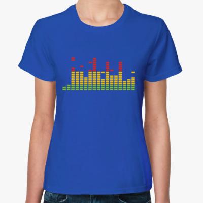 Женская футболка Эквалайзер