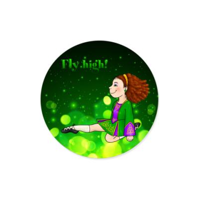 Виниловые наклейки Fly high!