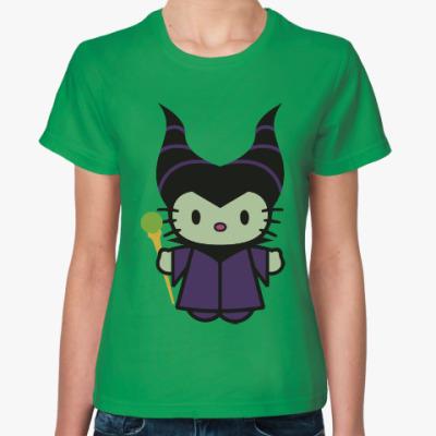 Женская футболка Китти Малефисента