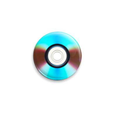 Значок 25мм DVD-диск