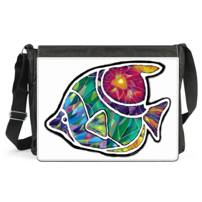Сумка Мозаичная рыба