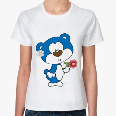 Классическая футболка   Зверушка
