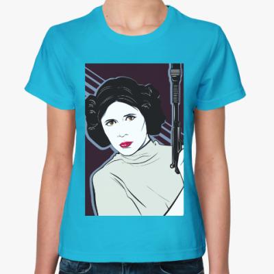 Женская футболка Принцесса Лея (Звездные Войны)