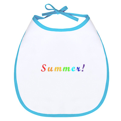 Слюнявчик 'Summer'