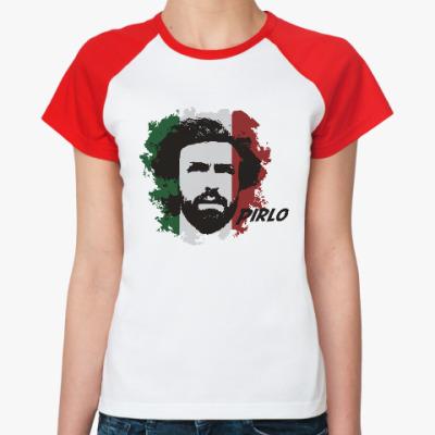 Женская футболка реглан Пирло