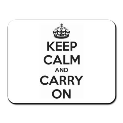 Коврик для мыши  Keep Calm