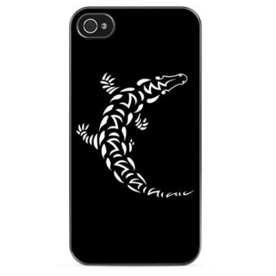 Чехол для iPhone Крокодил